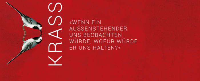 """Banner zu Martin Mosebachs """"Krass"""""""
