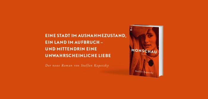 Banner zu «Monschau» von Steffen Kopetzky mit Buchabbildung