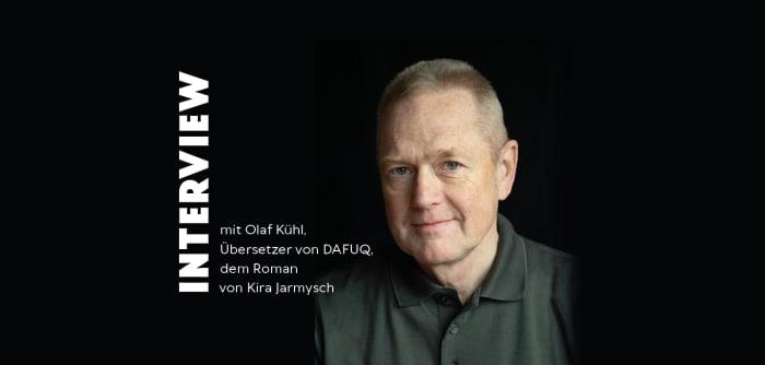 Foto von Übersetzer und Autor Olaf Kühl