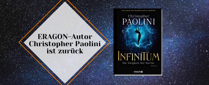 ERAGON-Autor Christopher Paolini ist zurück
