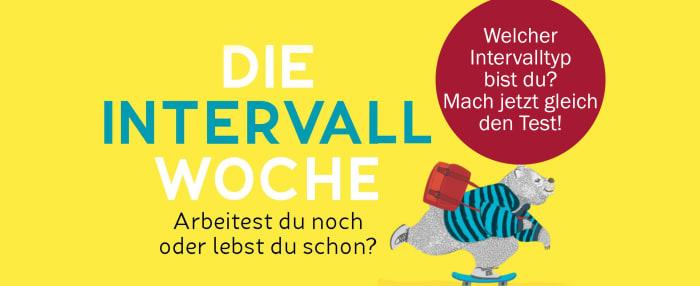 Die Intervall-Woche: Welcher Intervall-Typ steckt in Ihnen?