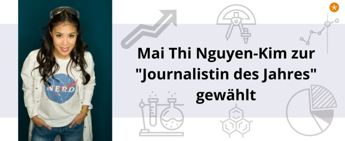 Mai Thi Nguyen-Kim ist Journalistin des Jahres 2020
