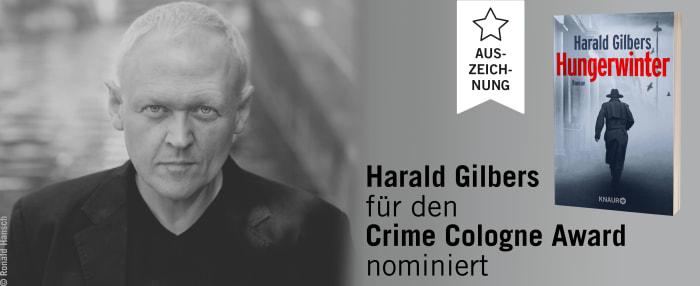 Harald Gilbers für den Crime Cologne Award nominiert