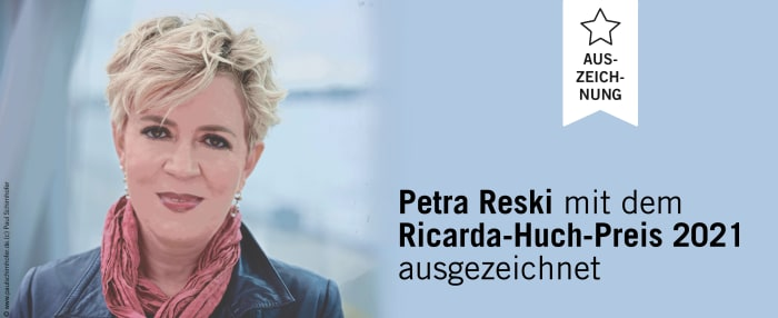 Die Autorin Petra Reski erhält den Ricarda-Huch-Preis 2021
