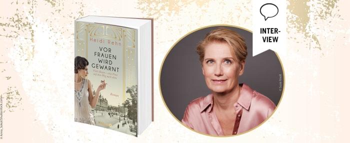 """Interview mit Heidi Rehn zu ihrem Buch """"Vor Frauen wird gewarnt"""""""