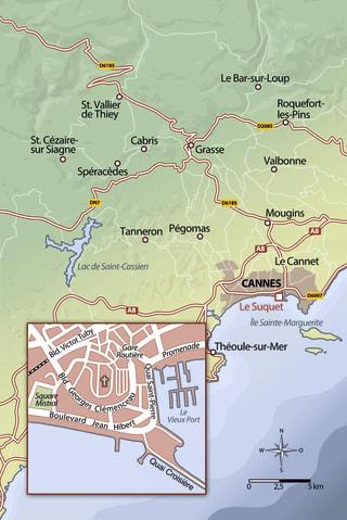 Das tiefe blaue Meer der Côte d'Azur Zusatzmaterial