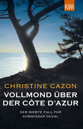 Vollmond über der Côte d'Azur