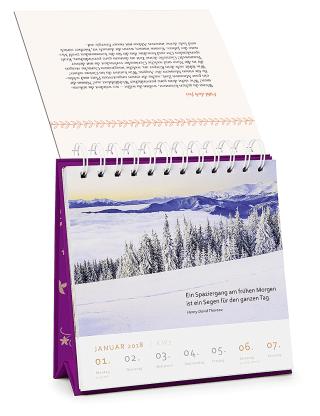 Ruhe und Gelassenheit - Wochen-Kalender 2020 Zusatzmaterial