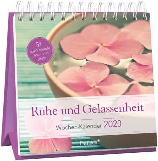 Ruhe und Gelassenheit - Wochen-Kalender 2020
