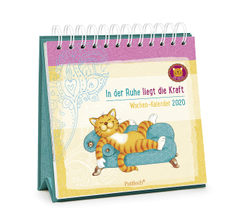 Om-Katze: In der Ruhe liegt die Kraft - Wochen-Kalender 2020 Zusatzmaterial