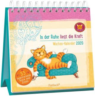 Om-Katze: In der Ruhe liegt die Kraft - Wochen-Kalender 2020
