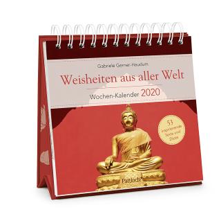 Weisheiten aus aller Welt - Wochen-Kalender 2020 Zusatzmaterial