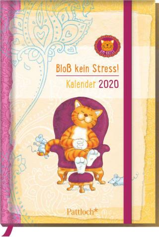 Om-Katze: Bloß kein Stress! Taschenkalender 2020