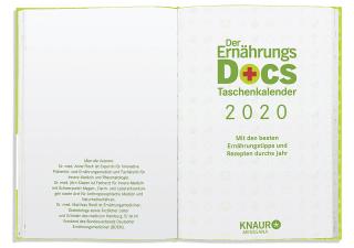 Der Ernährungs-Docs-Taschenkalender 2020 Zusatzmaterial