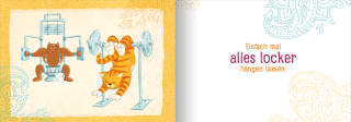 Om-Katze und Muskel-Kater: Gelassen hast du mehr vom Leben Zusatzmaterial