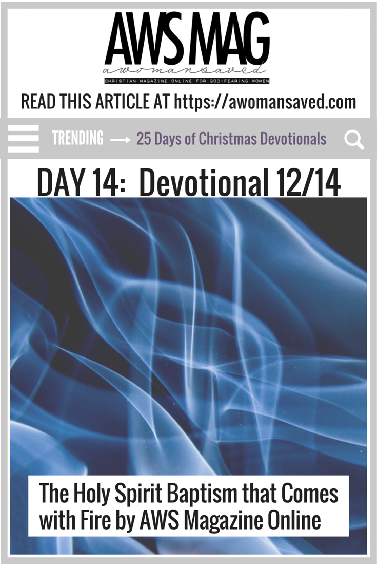 25 Days of Christmas Devotionals Day 14