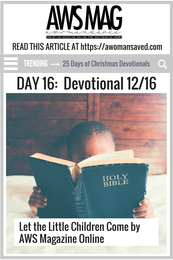 25 Days of Christmas Devotionals Day 16