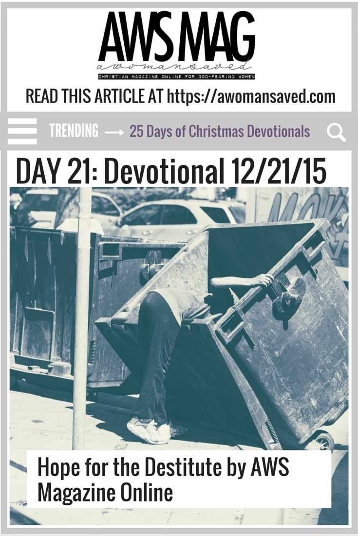 25 Days of Christmas Devotionals Day 21
