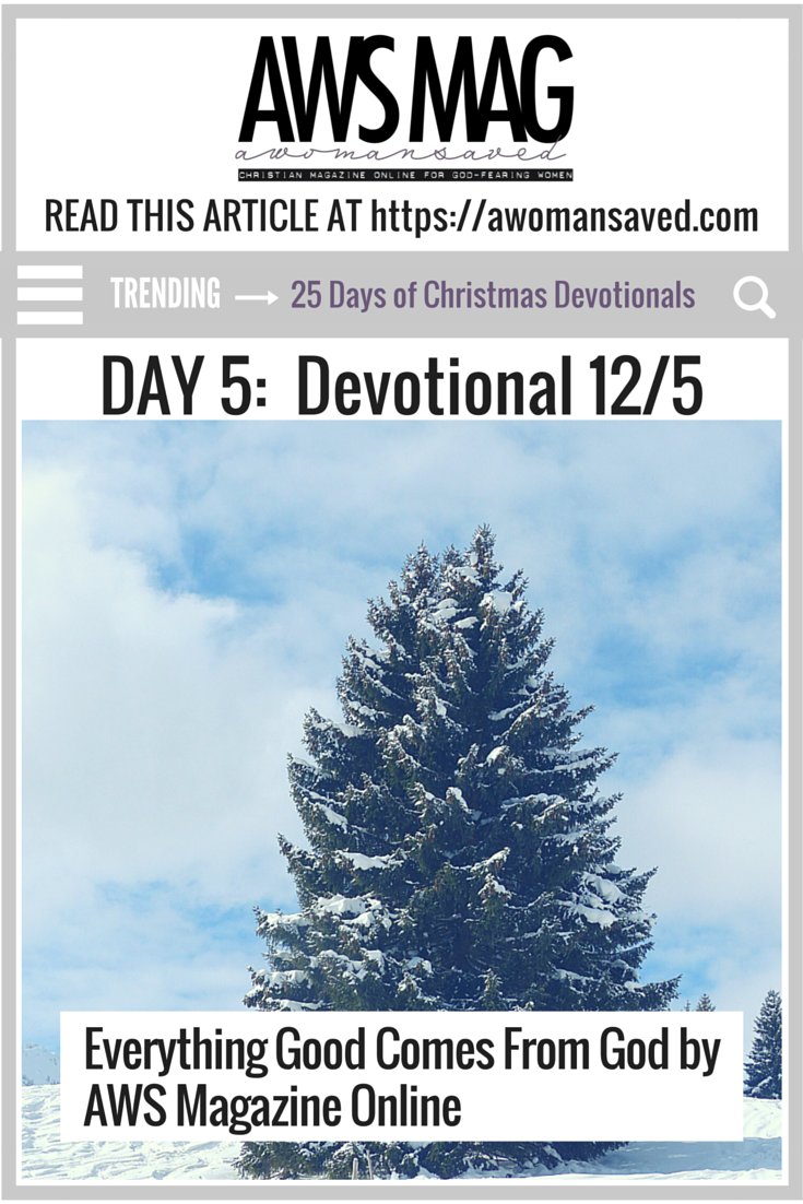 25 Days of Christmas Devotionals | AWS Christian Magazine Online