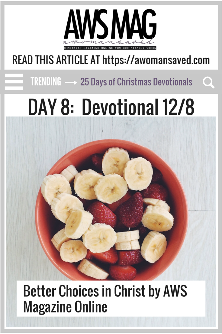 25 Days of Devotionals Day 9