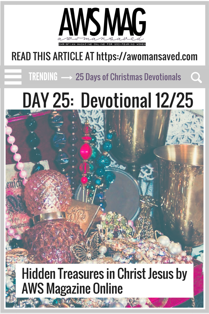 25 Days of Christmas Devotionals Day 25