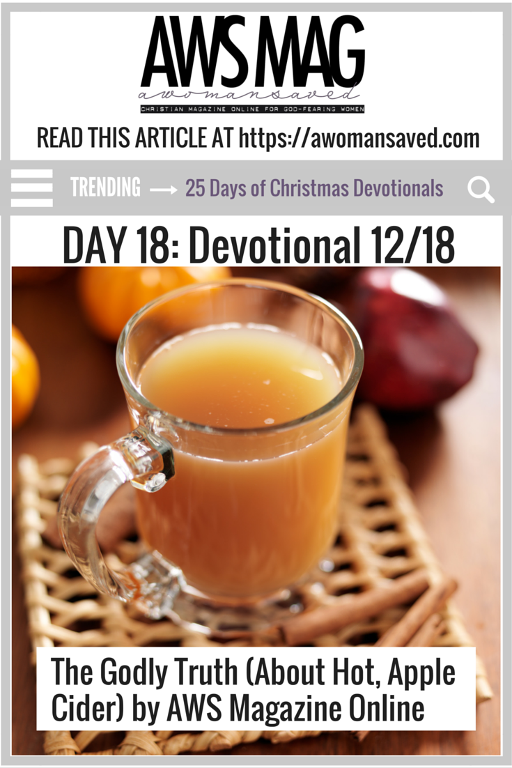 25 Day of Christmas Devotionals Day 18
