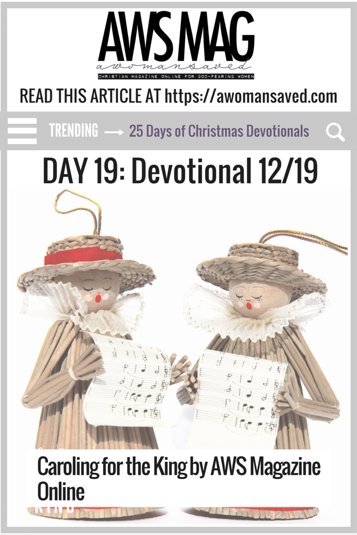25 Days of Christmas Devotionals Day 19