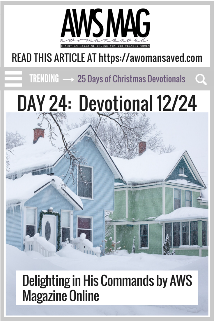 25 Days of Christmas Devotionals Day 24