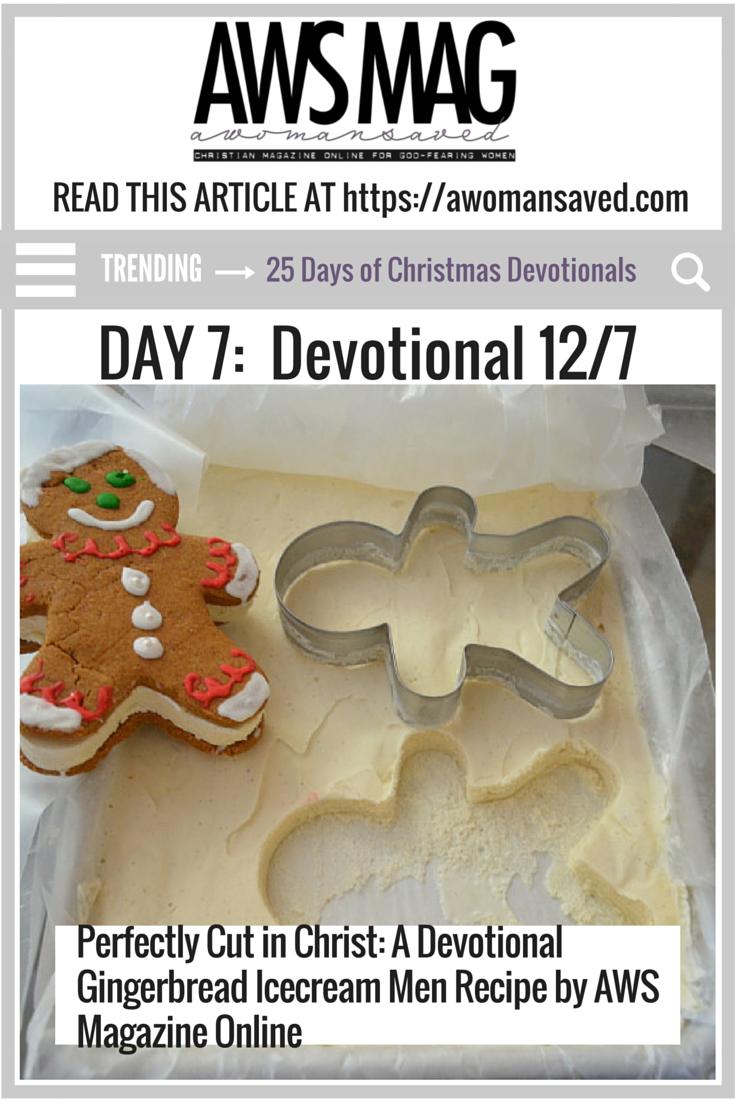 25 Days of Christmas Day 7 Christian Devotional