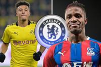 Chelsea keep tabs on Wilfried Zaha...