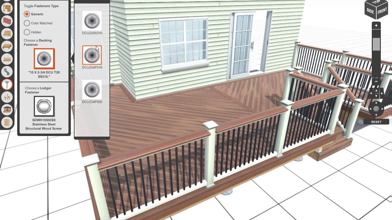 7. Trex Deck Design and Planning Software