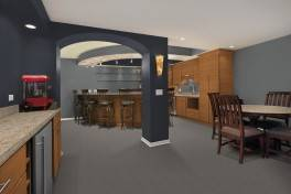 Formica design a room kitchen area software.