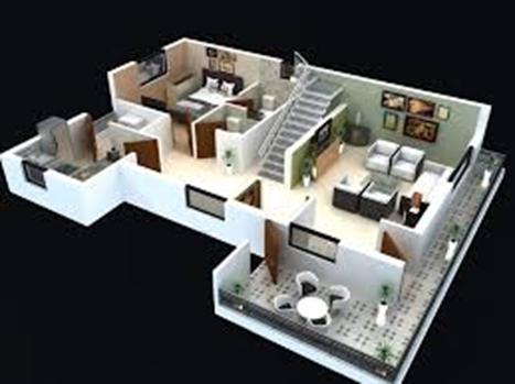 Home Design 3D is a simple program that only works on iOS (Apple) has a decent variety of features.