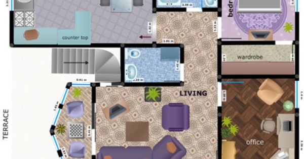 Regardless of size , shape or design style it does need the same amount of careful planning. Therefore, you should use the PlanningWiz 3D room planner to decorating your living room.