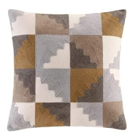 The second Layer are Large__Scale_Pattern_20_inch Throw Pillows