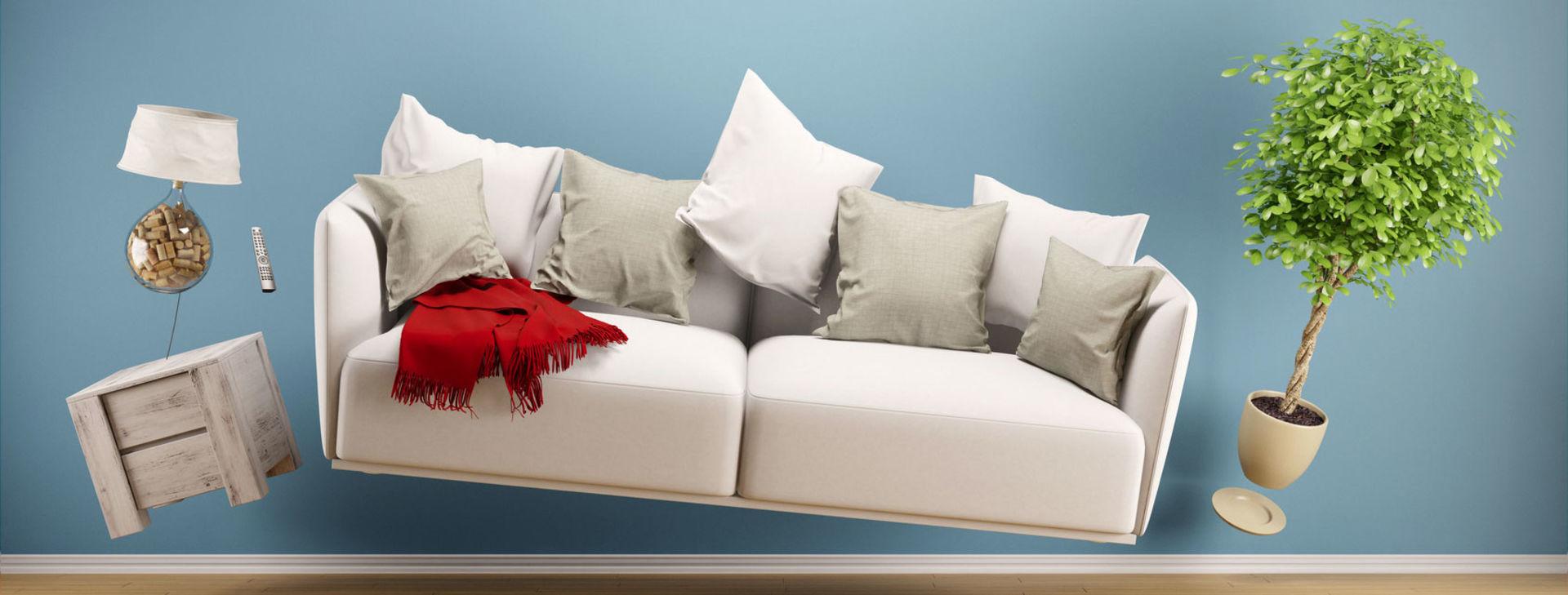 Home Staging Verkauf Immobilien: Wohnzimmer