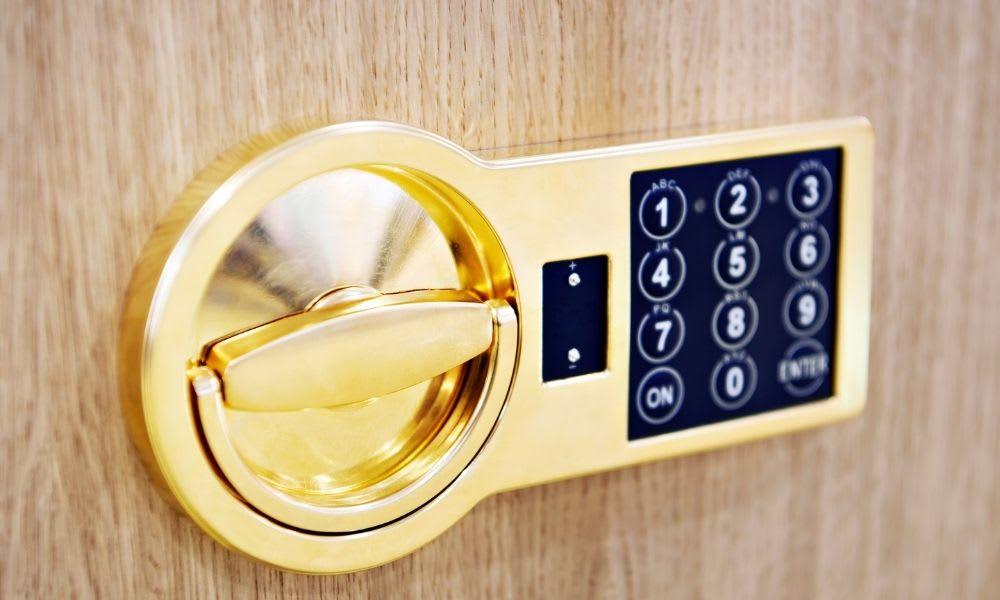 use of combination locks