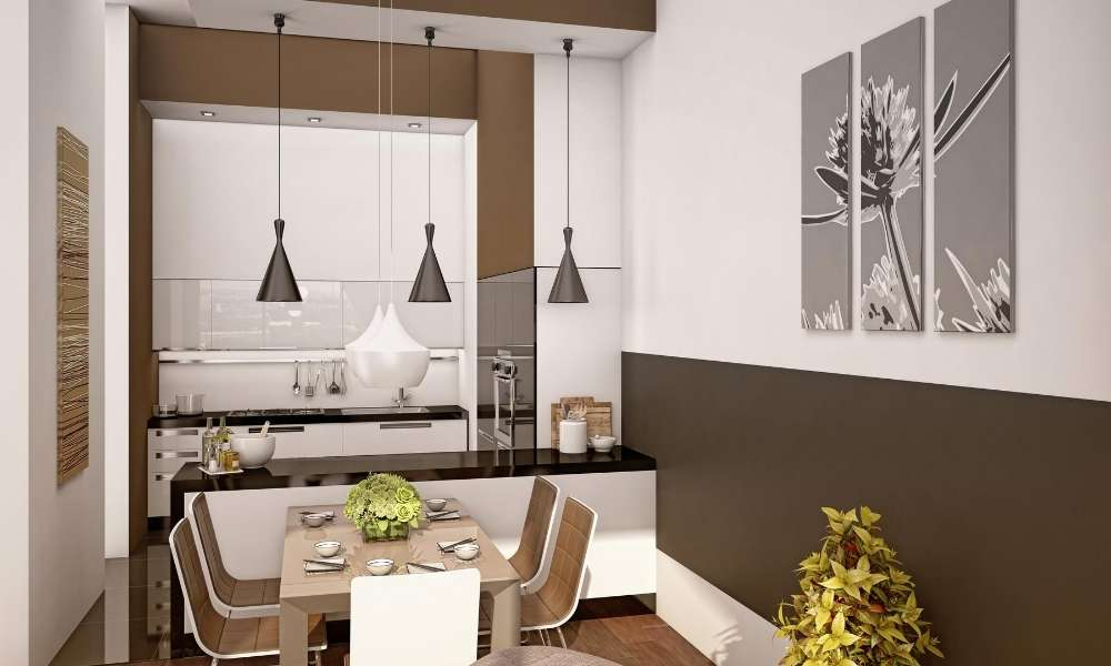 space in your small kitchen