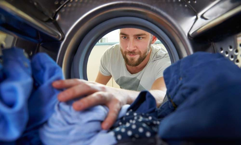 Delicate Clothes in a Washing Machine