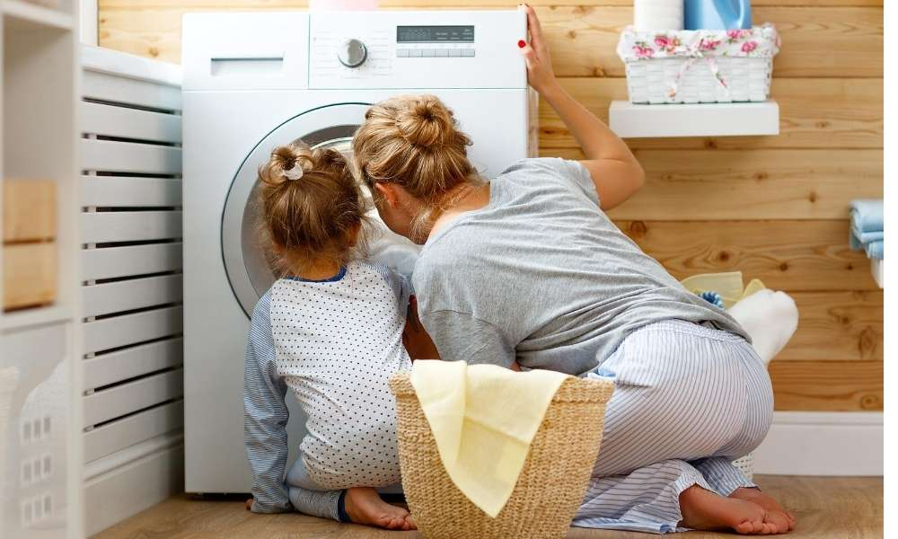 how to wash baby clothes in washing machine