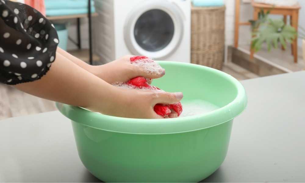 wash color cloth