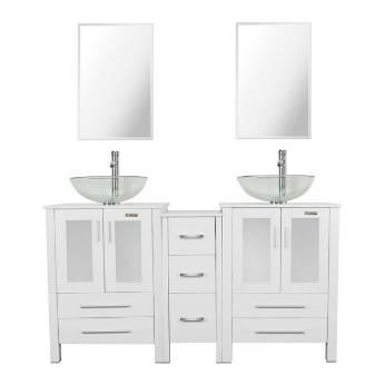 double sink bathroom vanity under $700