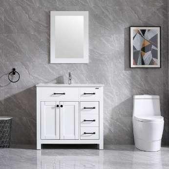 36 inch bathroom vanity