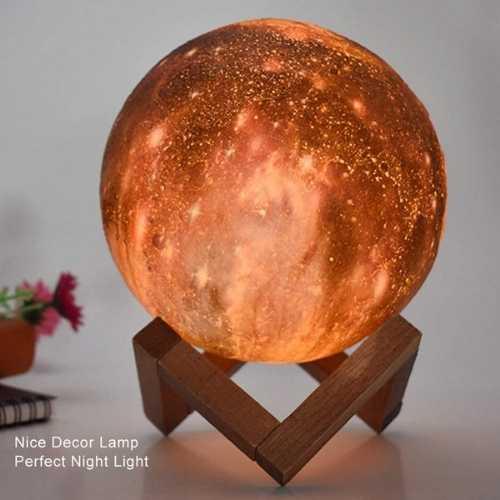 amazing 3d moon lamp