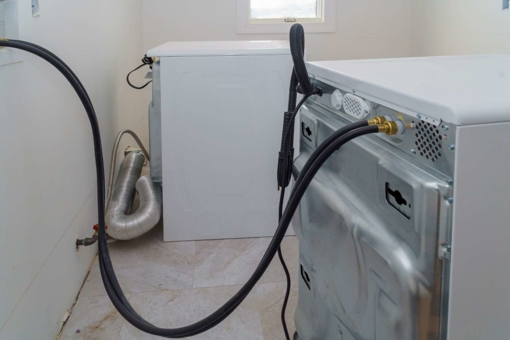 How to drain washing machine