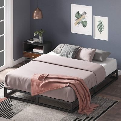 Zinus Joseph Low Twin Bed Frame For Adults