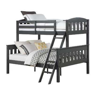 Cheap wooden bunk beds with mattresses