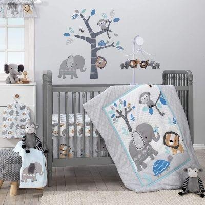 Originals Jungle Fun 3-Piece Crib Bedding Set