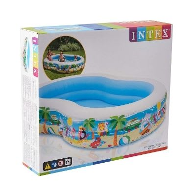 Intex Swim Center Paradise Inflatable Pool