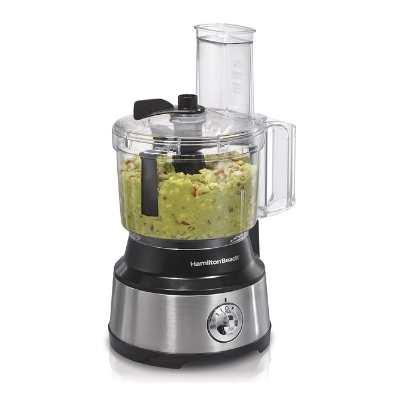 Hamilton Beach 10-Cup Food Food Processor & Vegetable Chopper With Bowl Scraper
